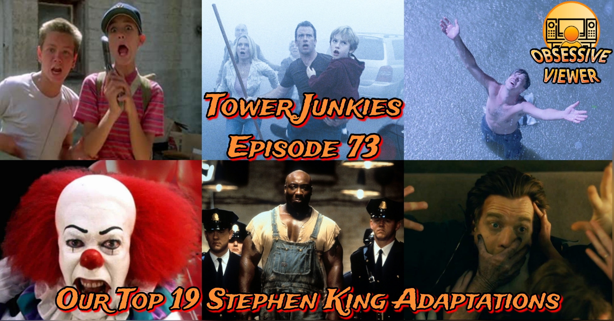 Tower Junkies – 073 – Palaver – Our Top 19 Stephen King Adaptations
